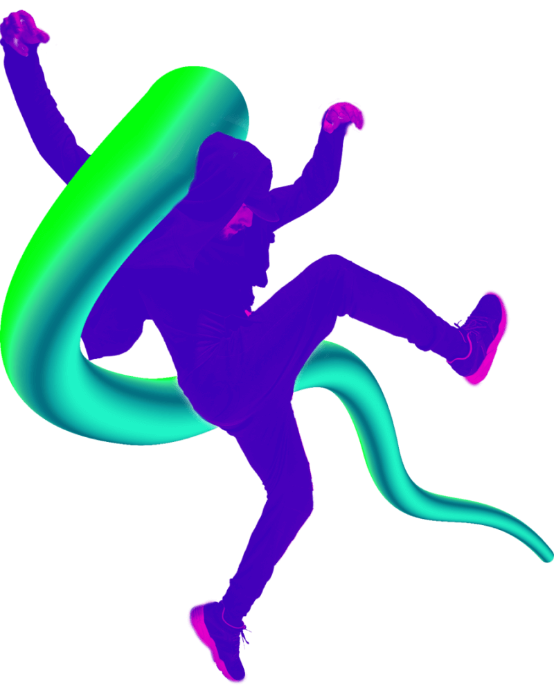 Homem dançando